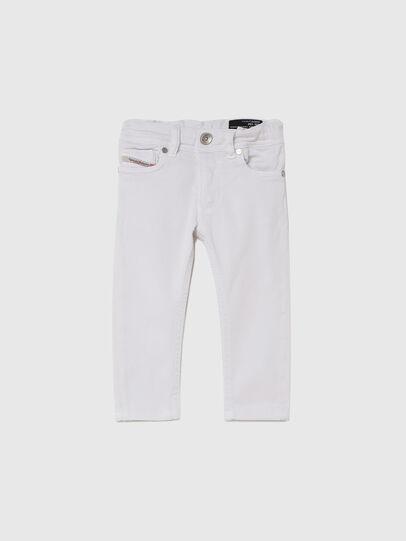 Diesel - SLEENKER-B JOGGJEANS-N, Weiß - Jeans - Image 1