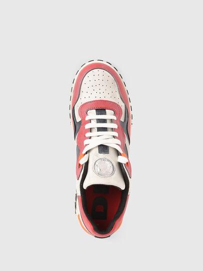 Diesel - S-RUA LOW SK, Weiss/Rot - Sneakers - Image 6