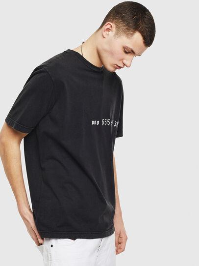 Diesel - T-JUST-T12, Schwarz - T-Shirts - Image 4