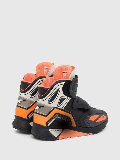 Diesel - ASTARS-SKBOOT, Schwarz/Orange - Sneakers - Image 3