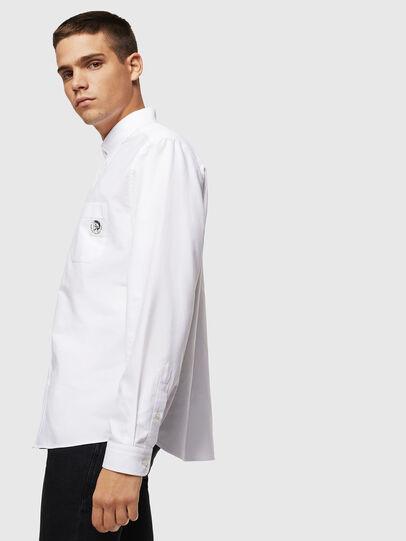Diesel - S-JAMES, Weiß - Hemden - Image 4
