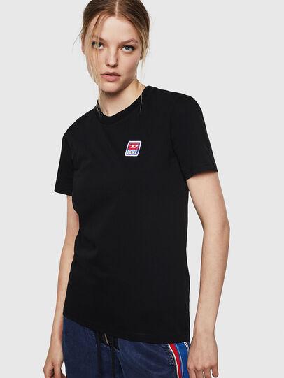 Diesel - T-SILY-ZE, Schwarz - T-Shirts - Image 1