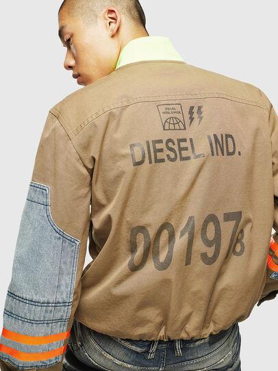 Diesel - J-STORCH, Beige - Jacken - Image 5