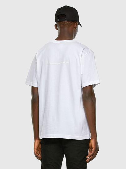 Diesel - T-TUBOLAR-X20, Weiß - T-Shirts - Image 6