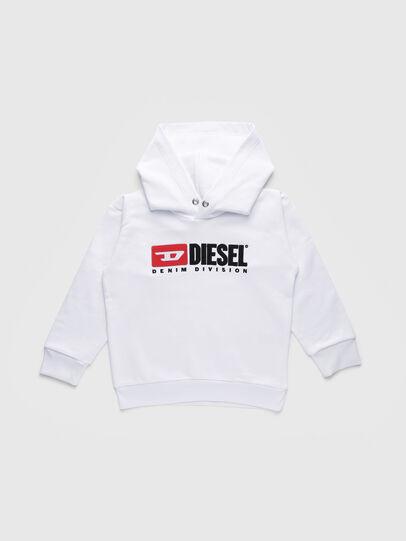 Diesel - SDIVISION OVER, Weiß - Sweatshirts - Image 1