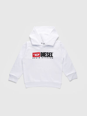 SDIVISION OVER, Weiß - Sweatshirts
