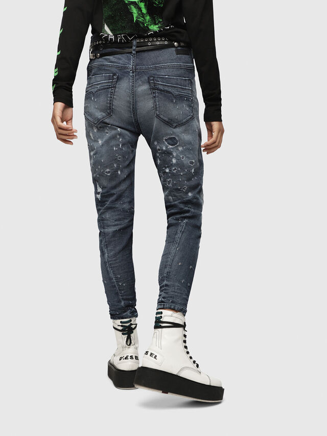 Diesel - Fayza JoggJeans 069CC, Mittelblau - Jeans - Image 2