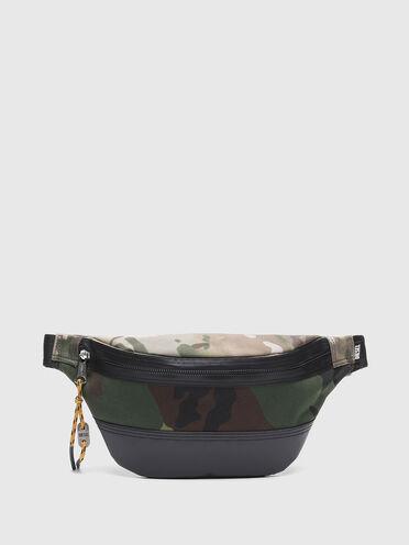 Gürteltasche mit Camouflage-Prints