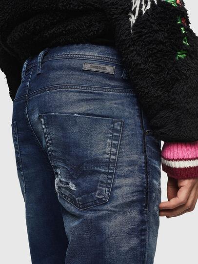 Diesel - Krooley JoggJeans 069JE, Dunkelblau - Jeans - Image 5