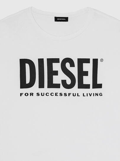 Diesel - T-DIEGO-LOGO, Weiß - T-Shirts - Image 3