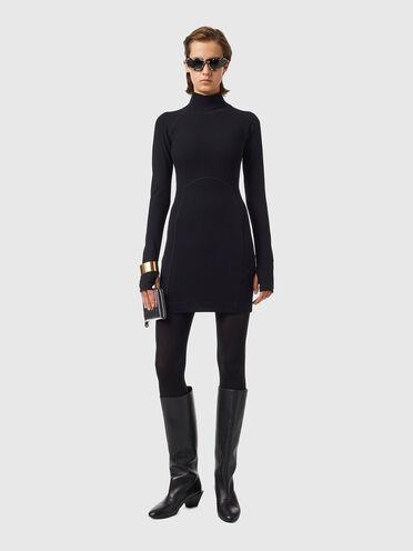 Kleid aus Superstretch-Jersey