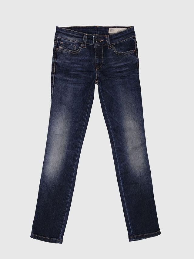 Diesel - SKINZEE-LOW-J-N, Dunkelblau - Jeans - Image 1