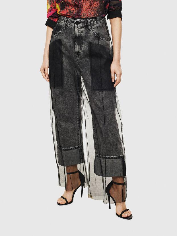 TYPE-1004, Schwarz - Jeans
