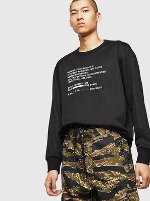 S-BAY-MESH, Schwarz - Sweatshirts