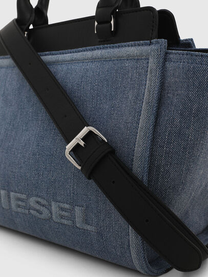 Diesel - BADIA, Jeansblau - Satchel Bags und Handtaschen - Image 6