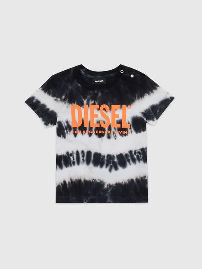 Diesel - TAREZB, Schwarz/Weiss - T-Shirts und Tops - Image 1
