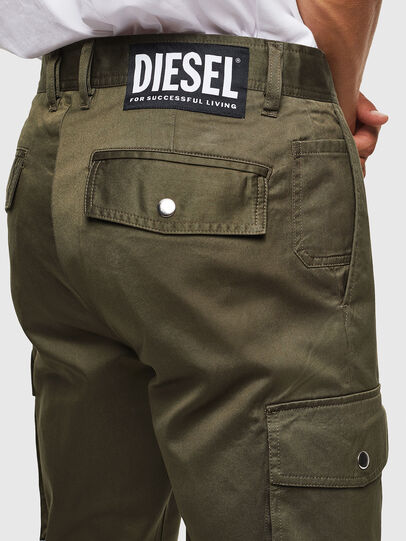 Diesel - P-JARED-CARGO, Grün - Hosen - Image 4