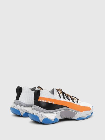 Diesel - S-KIPPER BAND, Weiß/Orange - Sneakers - Image 3