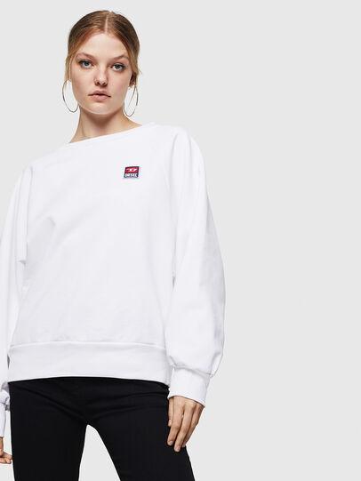 Diesel - F-HENNY-E, Weiß - Sweatshirts - Image 4