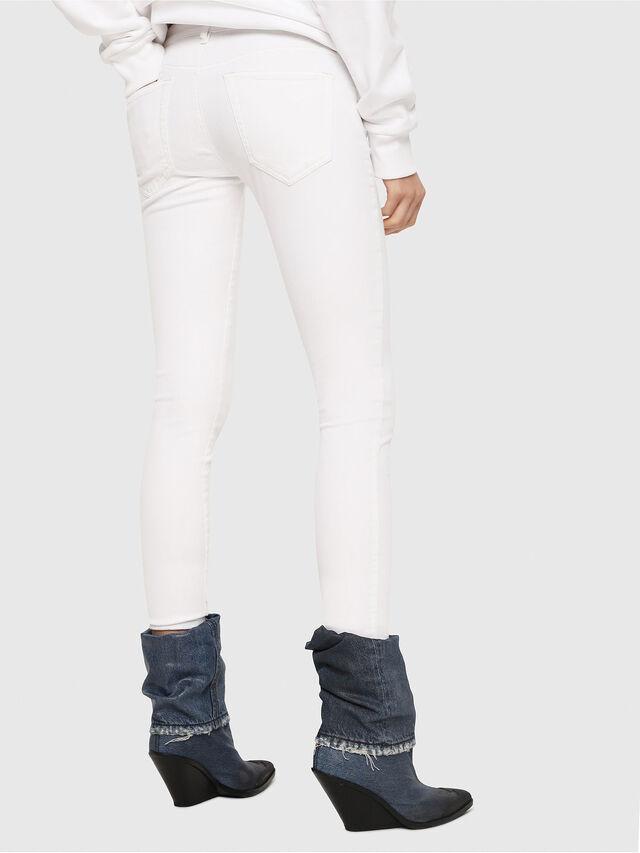 Diesel - Slandy Low 086AC, Weiß - Jeans - Image 2