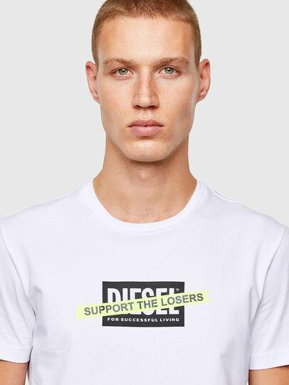 Diesel - T-DIEGOS-A3, Weiß - T-Shirts - Image 3