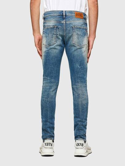 Diesel - D-Strukt 009MW, Mittelblau - Jeans - Image 2