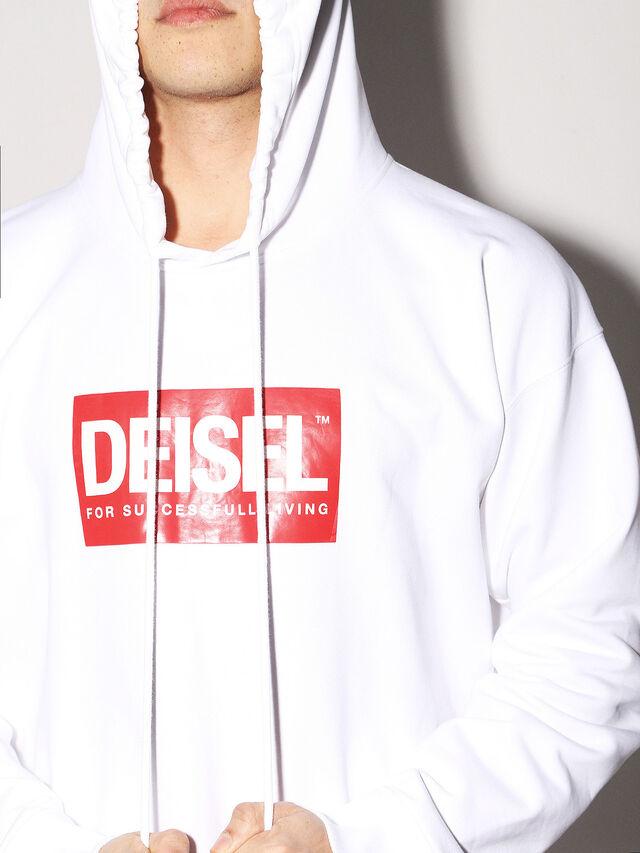 Diesel - DEIS-SHOOD, Weiß - Sweatshirts - Image 6