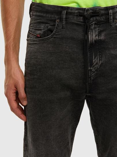 Diesel - D-VIDER JoggJeans® 009FZ, Schwarz/Dunkelgrau - Jeans - Image 3