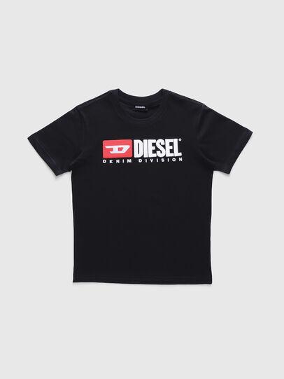 Diesel - TJUSTDIVISION, Schwarz - T-Shirts und Tops - Image 1