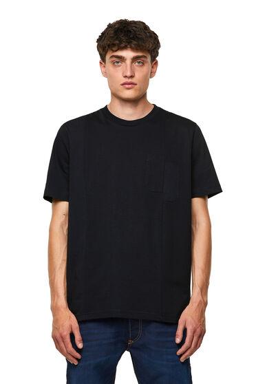 Green Label T-Shirt mit zweifarbigen Bahnen