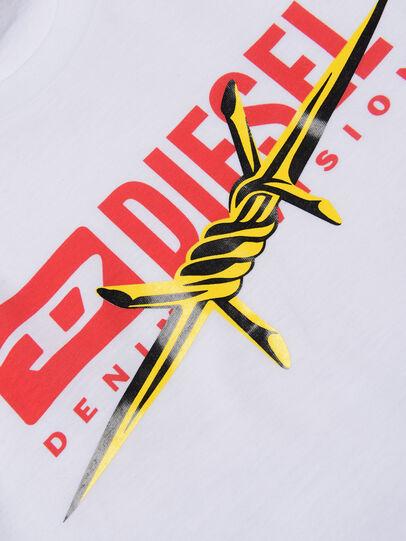 Diesel - TDIEGOBX2, Weiß - T-Shirts und Tops - Image 3