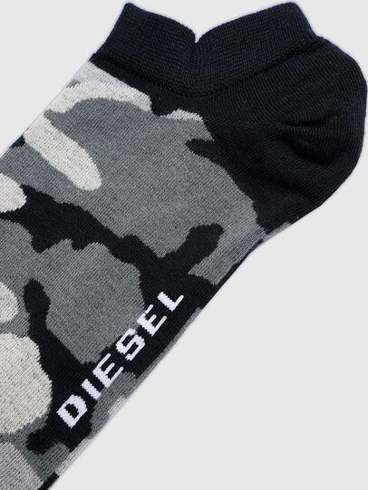 Diesel - SKM-GOST, Schwarz/Grau - Kurze Socken - Image 2