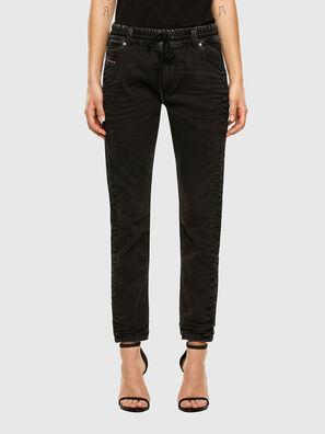 Krailey JoggJeans 009FY, Schwarz/Dunkelgrau - Jeans