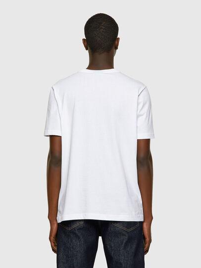 Diesel - T-JUST-INLOGO, Weiß - T-Shirts - Image 2