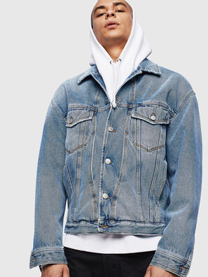 D-BRISTY, Hellblau - Denim jacken