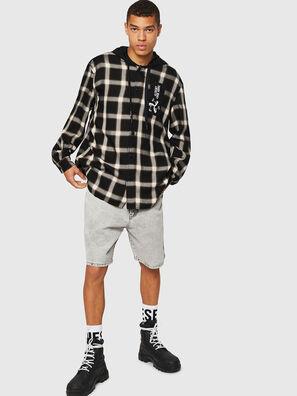 S-DOVIN, Schwarz/Weiß - Hemden
