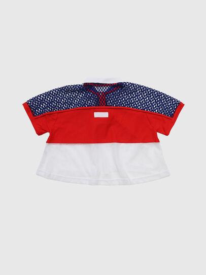 Diesel - TVAITEA, Rot/Weiß - T-Shirts und Tops - Image 2