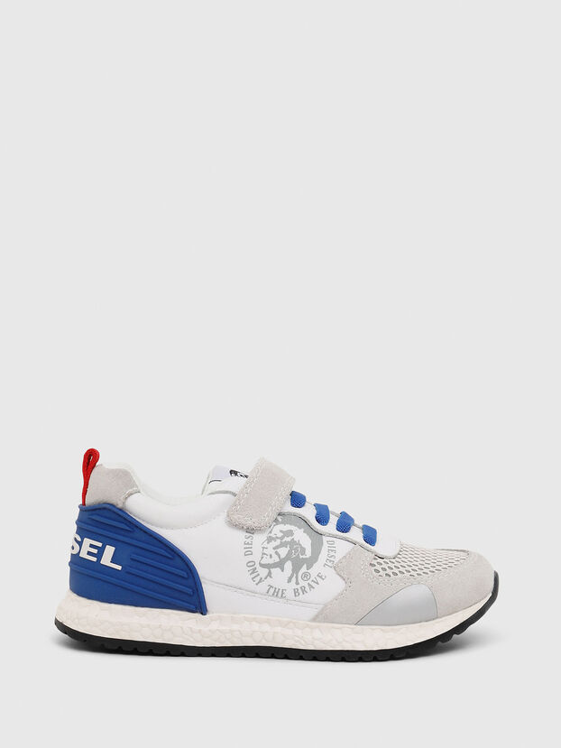 SN RUNNER 01 LC CH, Weiß/Blau - Schuhe
