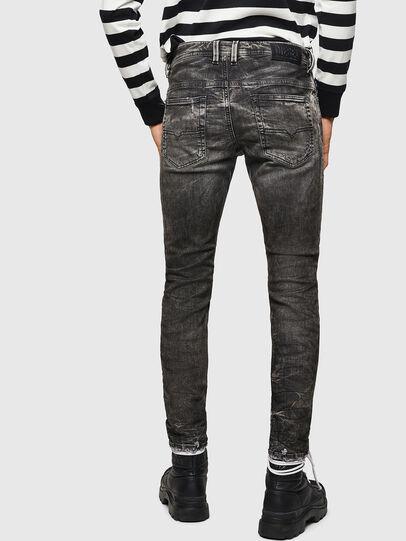 Diesel - Thommer JoggJeans 0890B, Schwarz/Dunkelgrau - Jeans - Image 2