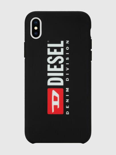 Diesel - DIESEL PRINTED CO-MOLD CASE FOR IPHONE XS MAX, Schwarz/Weiß - Schutzhüllen - Image 4