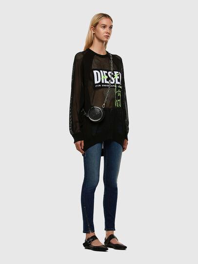Diesel - D-Jevel 009HL, Dunkelblau - Jeans - Image 7