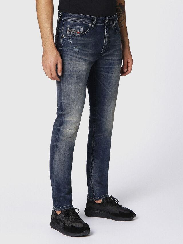 THOMMER 0687U, Jeansblau