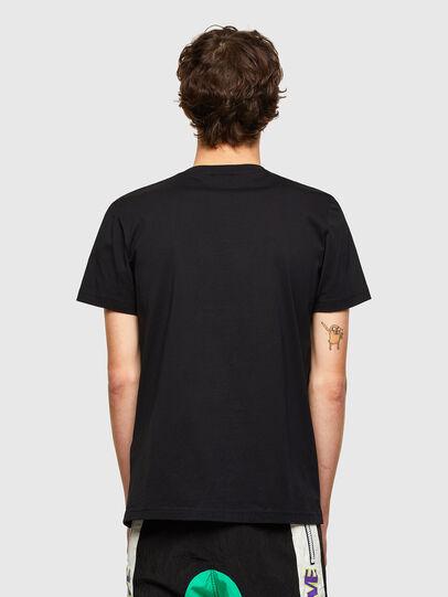 Diesel - T-DIEGOS-LAB, Schwarz - T-Shirts - Image 2