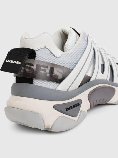 Diesel - S-KIPPER LOW TREK, Weiß/Grau - Sneakers - Image 7