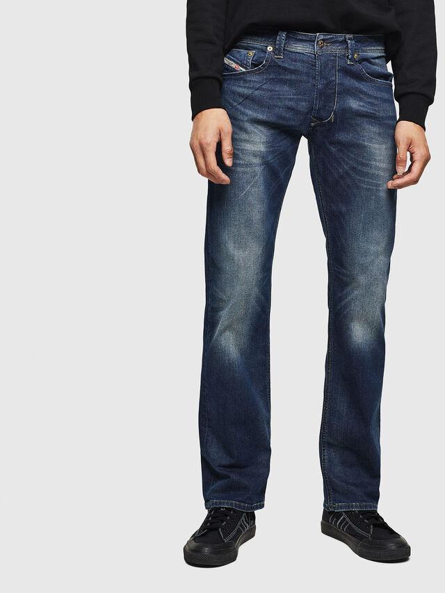 LARKEE 0853R, Jeansblau