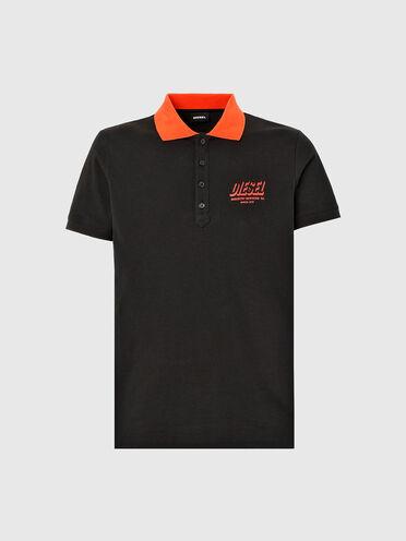 Poloshirt mit Diesel-Industry-Logo