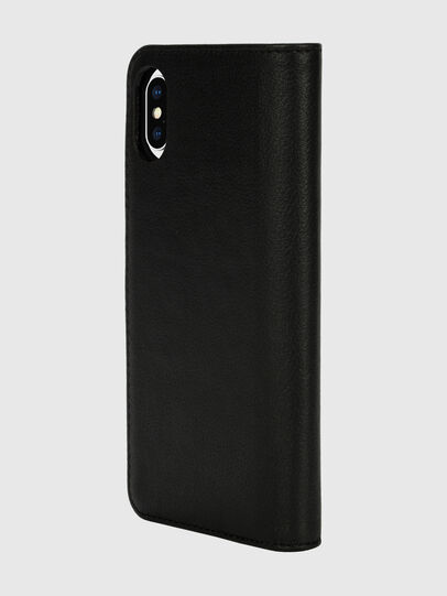 Diesel - DIESEL 2-IN-1 FOLIO CASE FOR IPHONE XS & IPHONE X, Schwarz/Weiß - Klappcover - Image 5