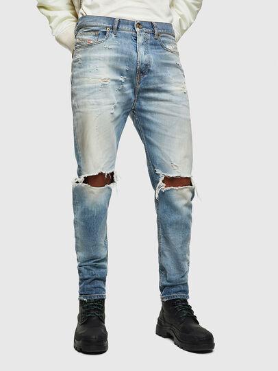 Diesel - D-Vider 0097J, Hellblau - Jeans - Image 1
