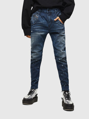 Fayza JoggJeans 083AS, Dunkelblau - Jeans