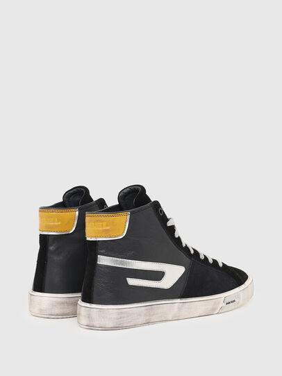 Diesel - S-MYDORI ML, Schwarz/Gelb - Sneakers - Image 3